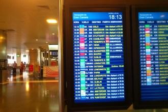 Aeropuerto de Gran Canaria. Foto: ATCpress
