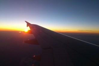 Avión en vuelo entre Canarias y la Península. Fotografía: ATCpress