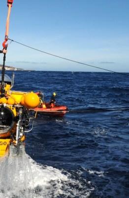 Proyecto científico Vulcano. Inmersión en submarino tripulado JAGO