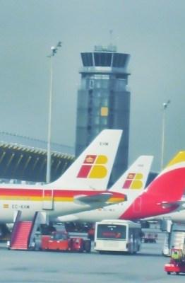 Aviones de Iberia en el aeropuerto de Barajas. Fotografía: ATCpress
