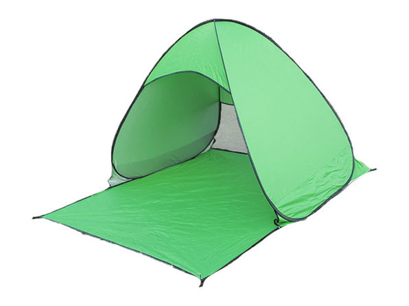 Pop-Up Beach Tent with UV 50+ Protection (Neon Green)