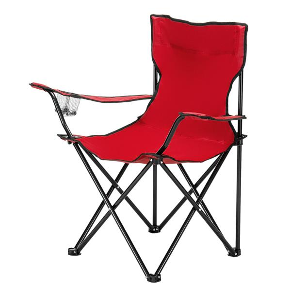Small Camp Chair 80x50x50 Red