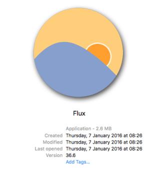 f.lux metadata