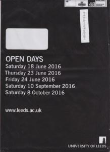 Leeds Prospectus Envelope