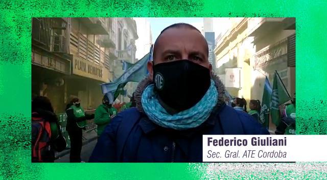 Federico Giuliani ATE Córdoba