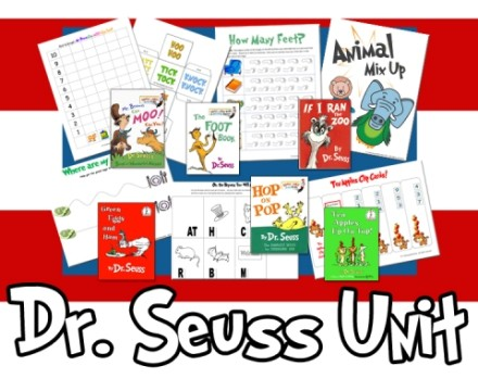 Dr Seuss Printables