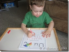 Handwriting, Counting & Eggs