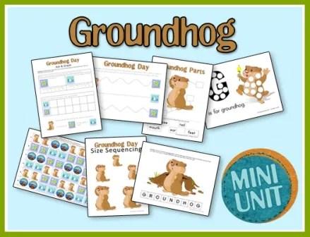 Groundhogs day printables groundhog printables ibookread Read Online