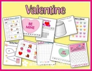 Valentine Sweetheart Printables
