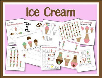 Ice Cream Printables