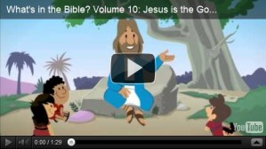 What's in the Bible- Jesus is the Good News {Giveaway}