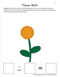 K Flower Math
