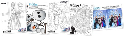 Free Frozen Family Activities
