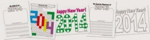 FREE 2014 New Year Printables