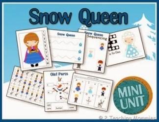 Disney's Frozen Preschool Printable Activities