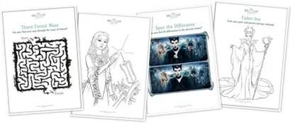 Disney's Maleficent Printables