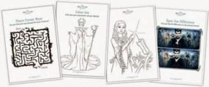 Maleficent Free Printables