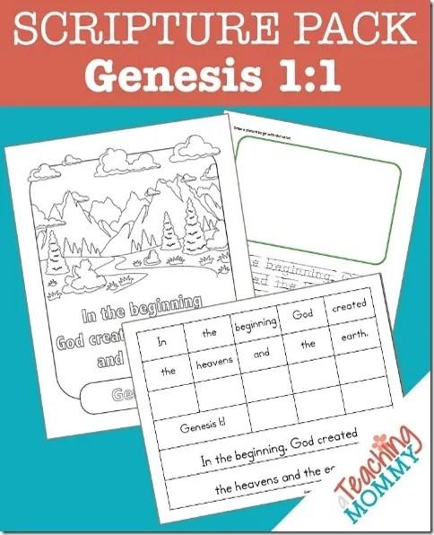Genesis 1_1 Pin