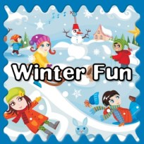 Winter Fun Button