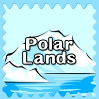 polar lands button