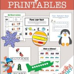 FREE January Themed Printables