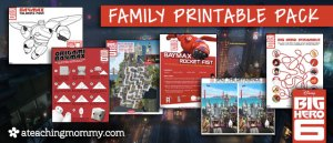 Big Hero 6 Printables