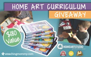 Win the Complete Home Art Studio Curriculum Set