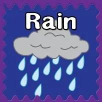 Rain Printables