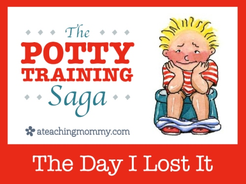 """Do you have any potty training """"horror"""" stories? This is one of mine."""