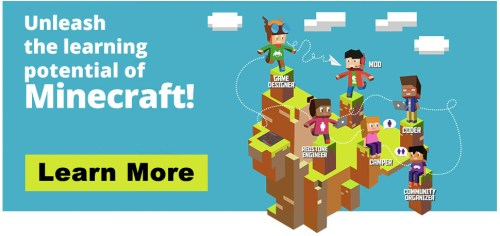 Unleash the learning potential of Minecraft!