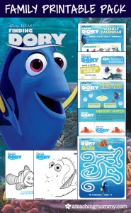 FREE Finding Dory Printables