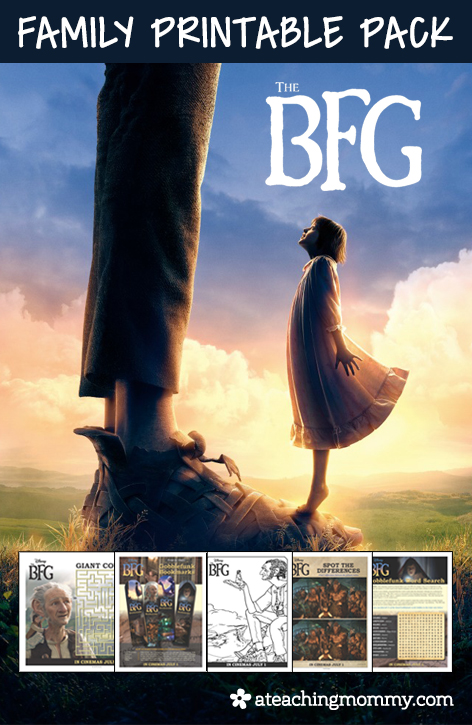 FREE Disney The BFG printables for the whole family! This kit includes over 10 pages of resources. You'll find crafts, activities, and even games!