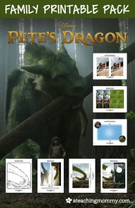 FREE Pete's Dragon Printables
