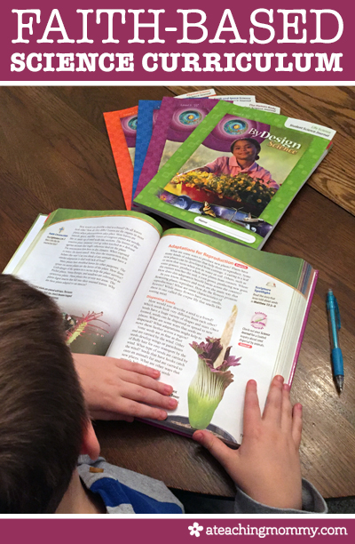 A Faith-Based Science Curriculum for Homeschool Families