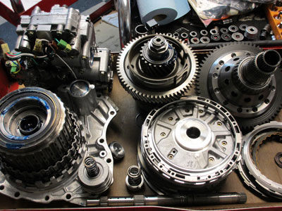 Gears on Table