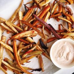 Spicy Root Veg Fries