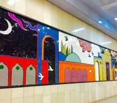 Subway station in Tehran