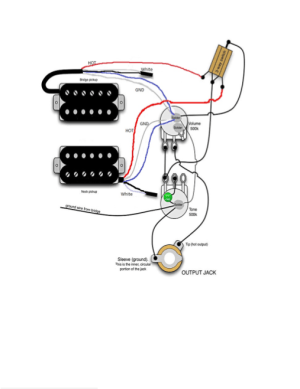 ATE Central  Mighty Mite Guitar Electronics Wiring Schematic