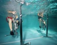 Hidrobike - Vista Embaixo D'Água