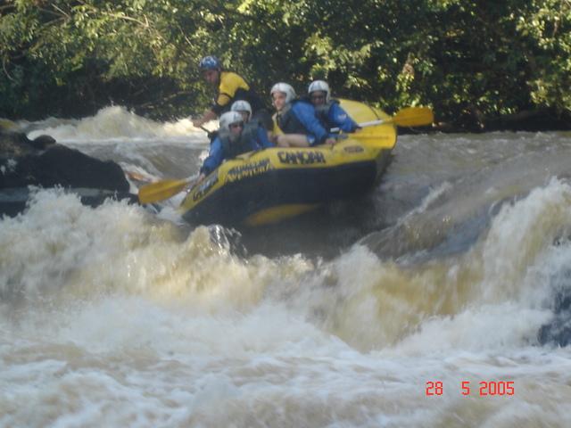 Eu no Rafting