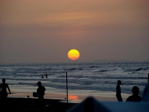 Que pôr do Sol maravilhoso!