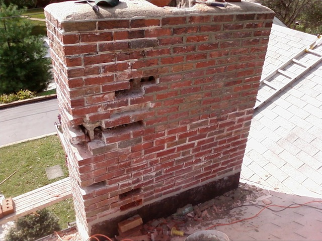 Chimney Repair Service  Atek Masonry