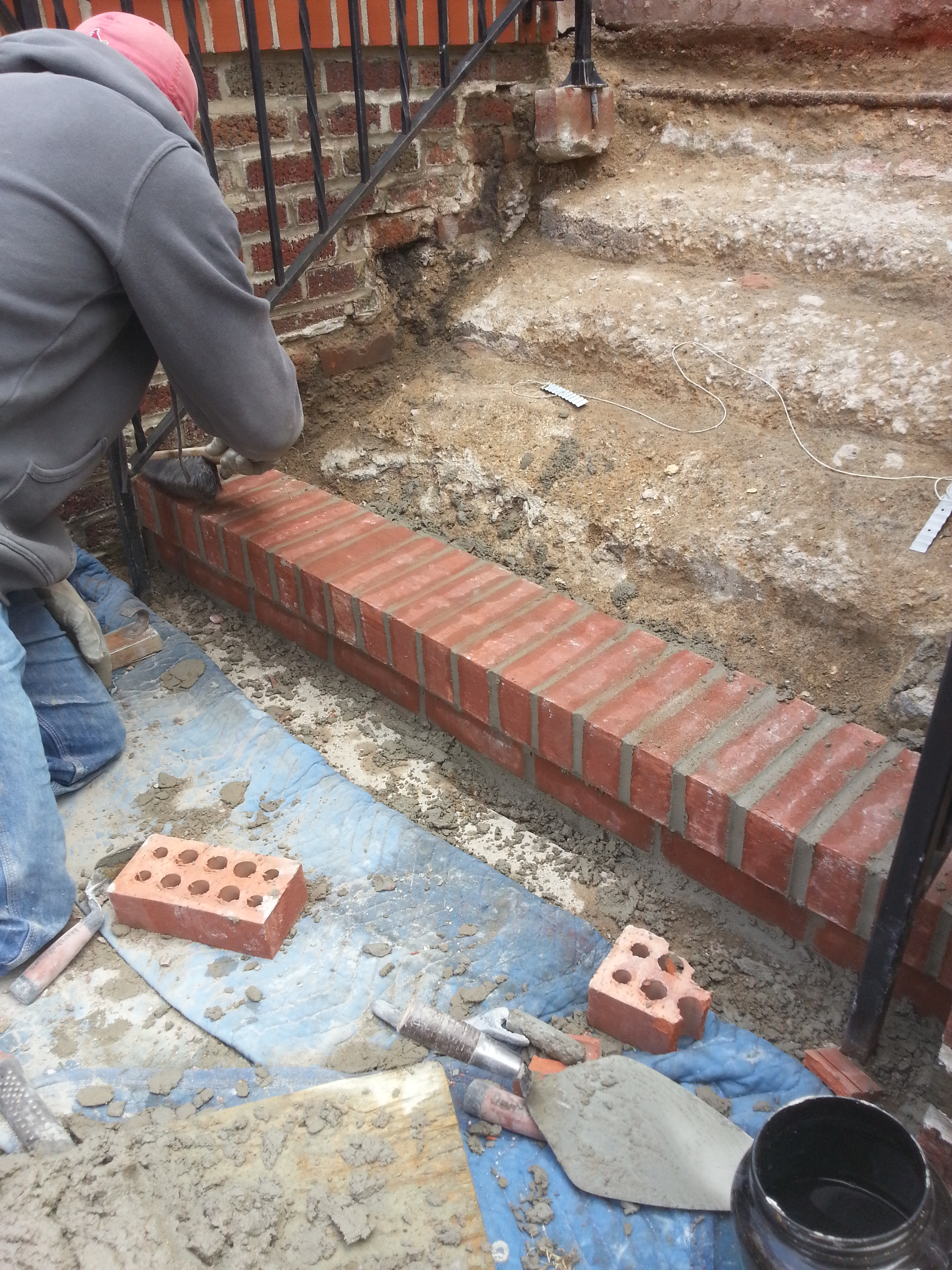 Brick Fireplace Repair