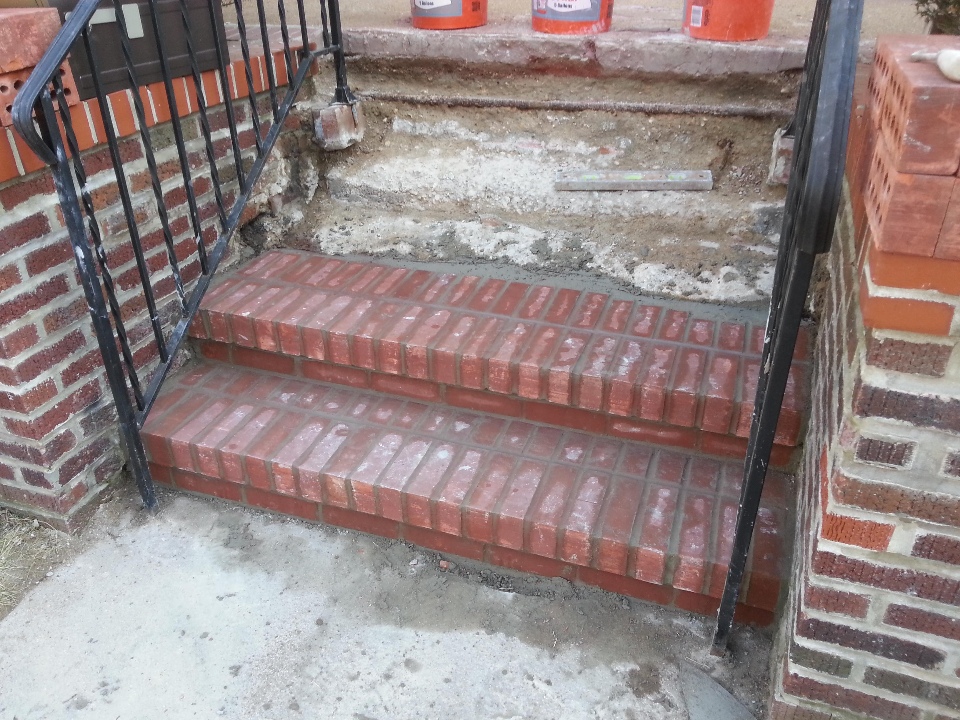UCity Brick Steps Relay  Atek Masonry