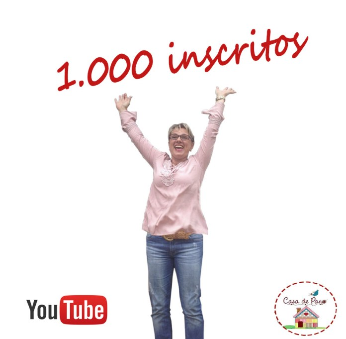 1.000 inscritos