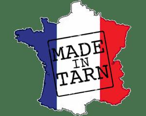 Fabriqué dans le Tarn sur Carte de France