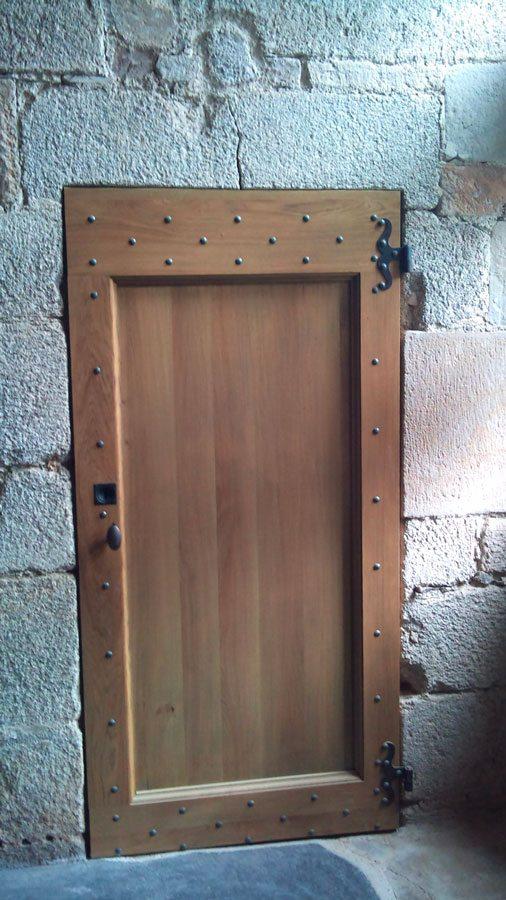 Portes atelier du bois - Porte entree bois sur mesure ...