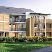 La Chavanne :  38 logements collectifs et 4 maisons individuelles