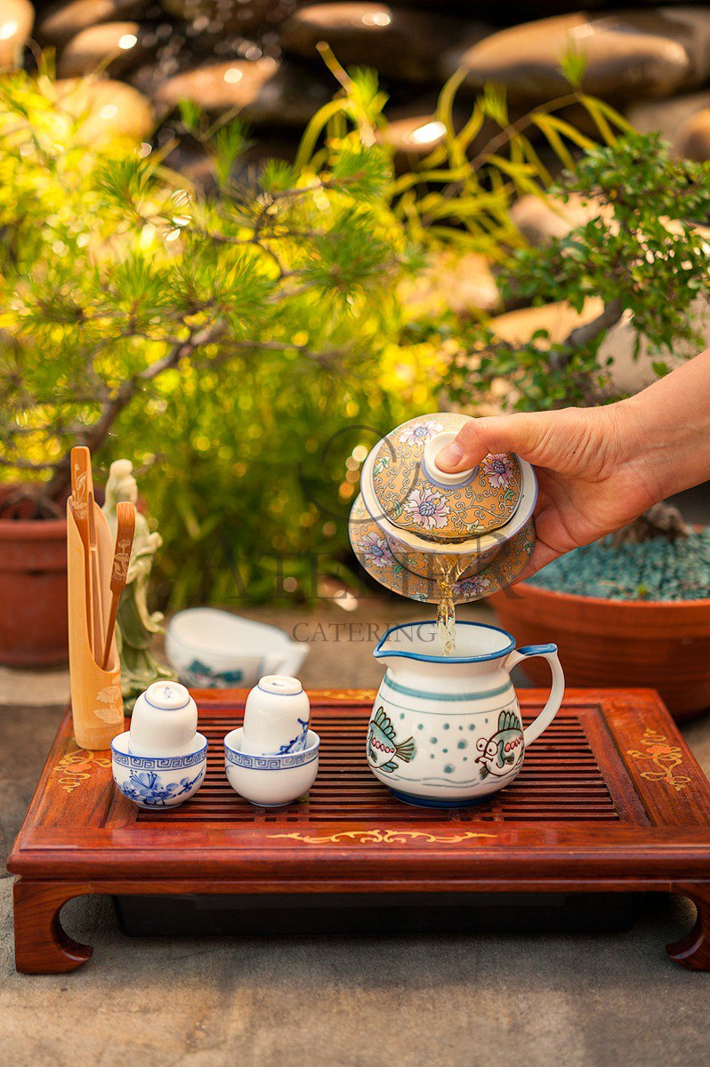 Chinese Tea Ceremony  Atelier Catering