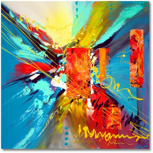 Abstrakt Art Nr. 488
